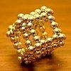 NEOCUBE Магнитный конструктор (Золотой) 6мм