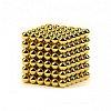 NEOCUBE Магнитный конструктор (Золотой) 7мм