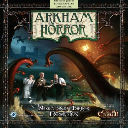 "Настольная игра ""Arkham Horror: Miskatonic Horror"""