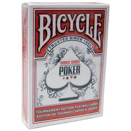 Карты Bicycle WSOP Regular Index Red, 1020807red