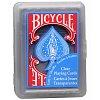 Прозрачные карты Bicycle Clear Regular Index Blue, 1012484