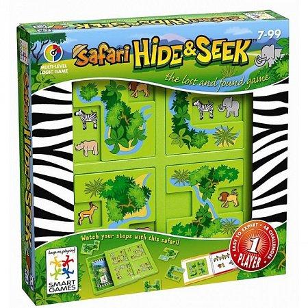 Настольная игра Сафарі: Сховай або знайди (Сафари). SMART GAMES (SG 101 UKR)