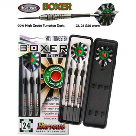 Дротики Harrows Boxer tungsten steeltip K1 24g