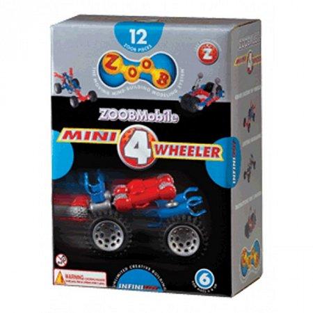 Конструктор ZOOB Mobile Mini 4 Wheeler с колесами