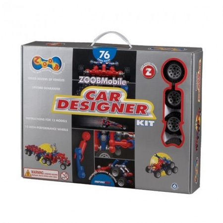 Конструктор ZOOB Mobile Car Designer с колесами ZOOB