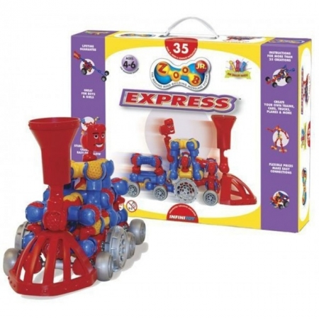 Конструктор ZOOB JR Express, для малышей