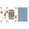 Карты пластиковые Fournier Poker Vision Poker Index Blue, 36662blue