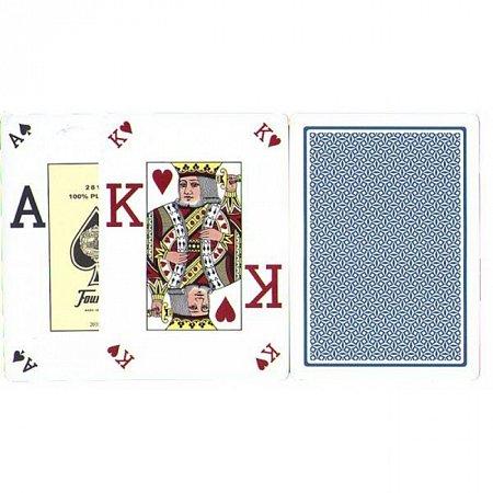 Изображение - Карты пластиковые Fournier Poker Vision Poker Index Blue, 36662blue