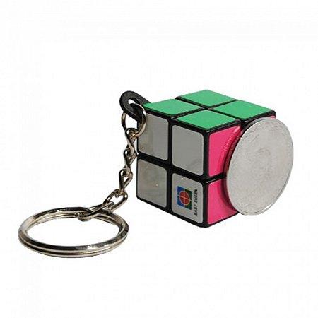 Фингер кубик 2х2. Брелок на ключи. East Sheen