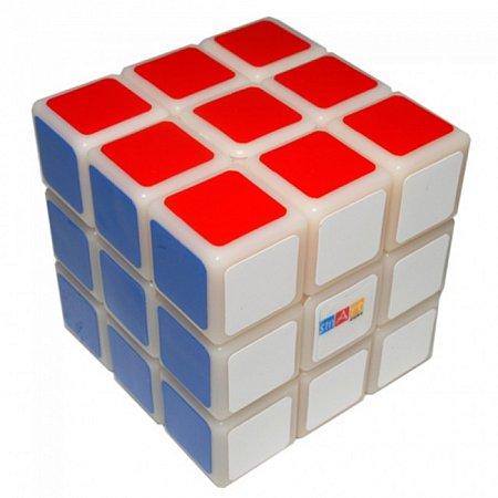 Кубик Рубика 3х3х3 с белой основой. Smart Cube
