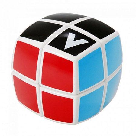 Кубик Рубика V2 с белой основой (V-CUBE 2b). V2b-WH