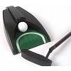 Набор для гольфа в кожаном кейсе с механизмом возврата мяча