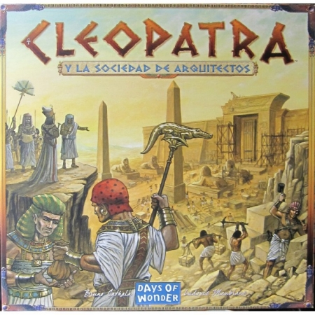 Настольная игра Cleopatra and the Society of Architects. Days of Wonder (7501)