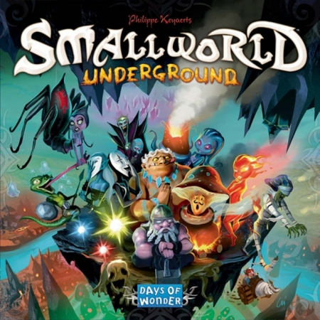 Настольная игра Small World. Underground. Days of Wonder (7909)