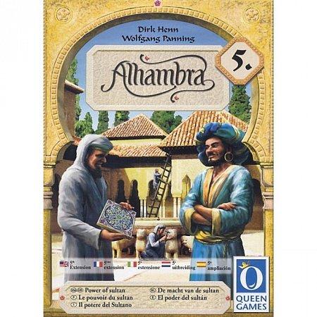 """Настольная игра """"Alhambra 5. The Power of Sultan"""". Дополнение"""