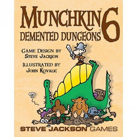 Изображение - Munchkin 6 Demented Dungeons. Дополнение (на английском языке)