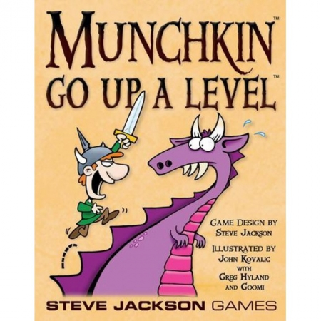 Munchkin Go Up A Level (на английском языке)