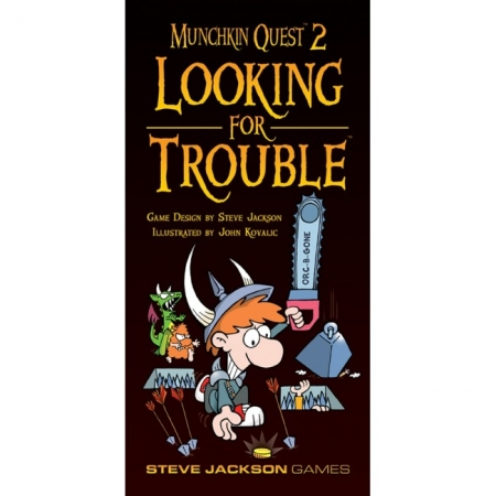 Настольная игра Munchkin Quest 2 Looking for Trouble. Дополнение