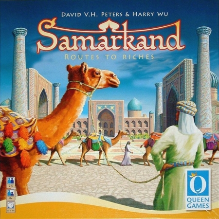 Настольная игра Samarkand Routes to Riches