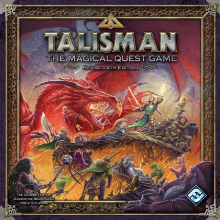 Настольная игра Talisman. Revised 4th Edition