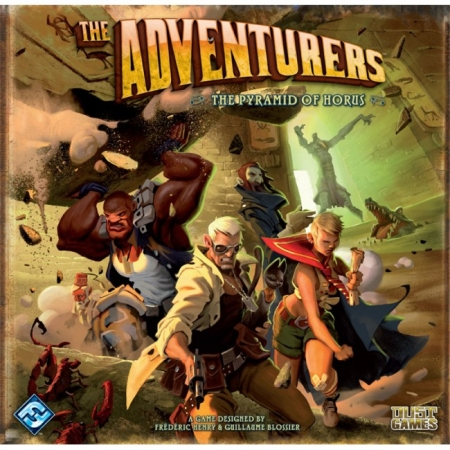 Настольная игра The Adventurers: The Pyramid of Horus