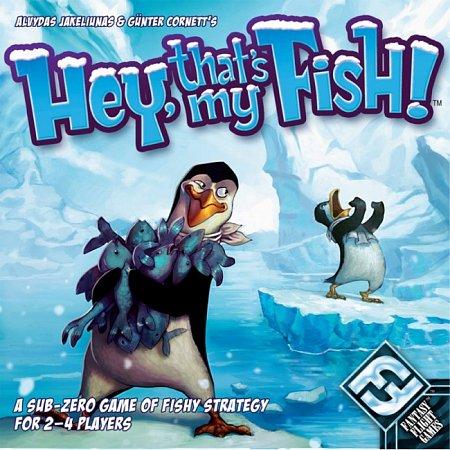 Hey, that is my fish!   Эй! Это моя рыба! (на английском языке)