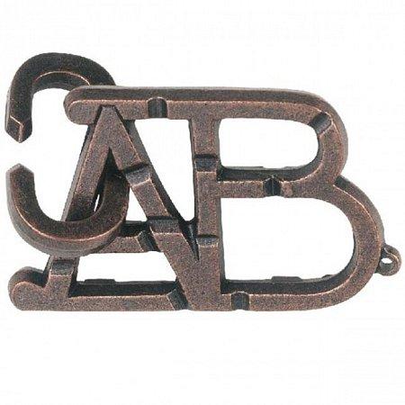 Изображение - Металлическая головоломка ABC (Алфавит) 1 ур. сложности. Huzzle (515003)