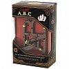 Литая головоломка ABC (Алфавит) 1 ур. сложности