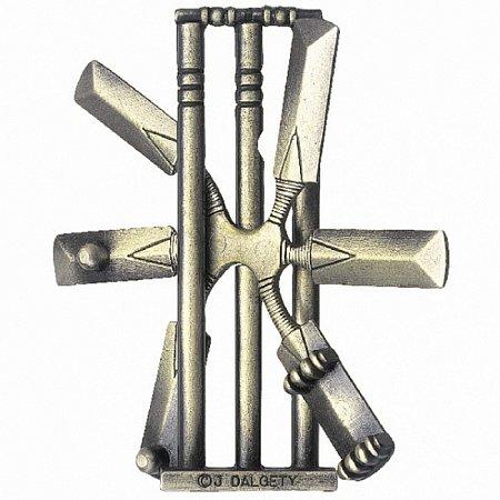 Изображение - Литая головоломка CRICKET (Крикет) 2 ур. сложности. Huzzle