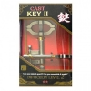 Литая головоломка KEY II (Ключ-2)2 ур. сложности