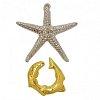 Литая головоломка STARFISH (Морская звезда) 2 ур. сложности