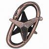 Изображение 1 - Металлическая головоломка STAR (Звезда)3 ур. сложности. Huzzle 515031