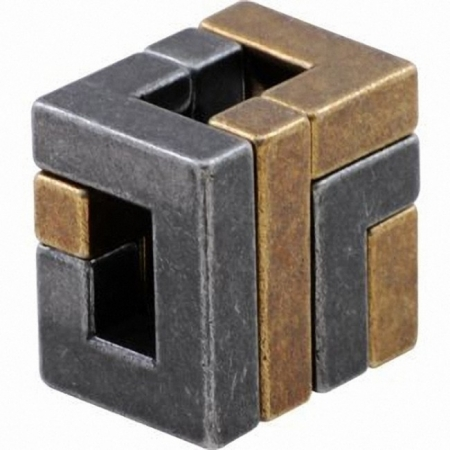 Изображение - Металлическая головоломка COIL (Куб) 4 ур. сложности. Huzzle 515056
