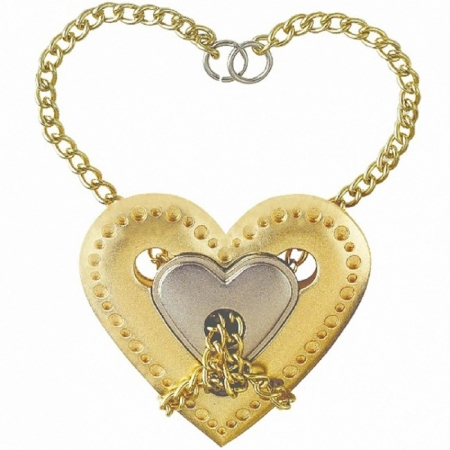 Литая головоломка HEART (Сердце) 4 ур. сложности