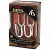 Литая головоломка DEVIL (Когти дьявола) 4 ур. сложности