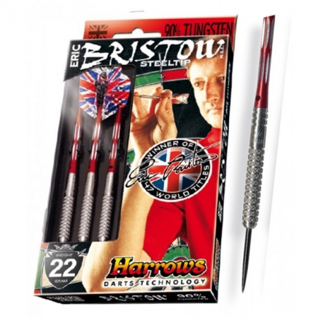 Дротики Harrows Eric Bristow 90% tungsten steeltip 22g K