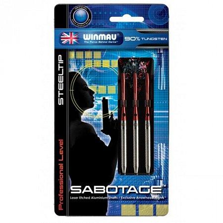 Дротики Winmau Sabotage 90% tungsten steeltip 24g