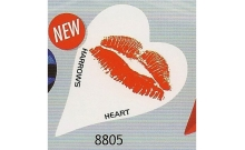 Оперение Harrows Heart Luscious Lips 8805