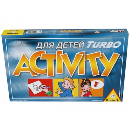 Настольная игра Активити Турбо (Activity junior Turbo), для детей