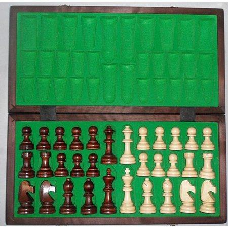 Деревянные Шахматы Стаунтон Эксклюзив средние, 49 см, 3178