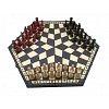 Шахматы для троих. Madon troiki Sredni, 40 см, 3163