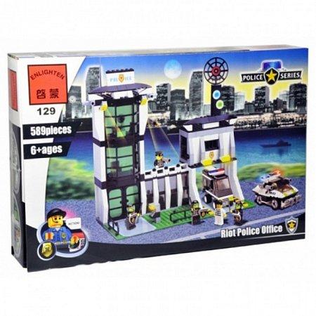 Конструктор Brick Полицейский участок. к0129