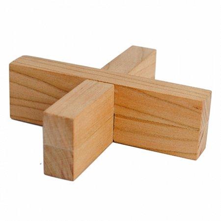 Деревянная головоломка Плюсминус