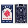 Карты Bicycle Bridge Size Standard Index Blue, 1004995Blue