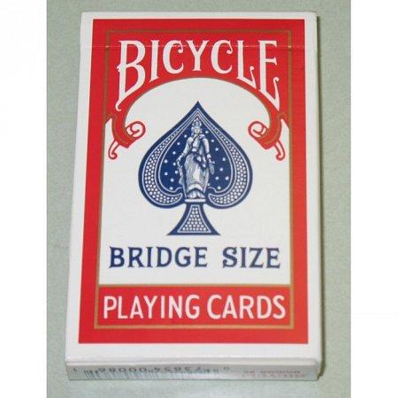 Карты Bicycle Bridge Size Standard Index Red, 1004995red