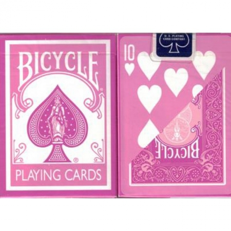 Карты Bicycle Standard Index Pink, 1020813pink