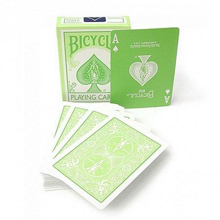 Карты Bicycle Standard Index. Acid Green