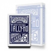 Карты Tally-Ho Standard Index CircleBack Blue, 1006704blue