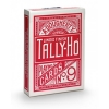 Карты Tally-Ho Standard Index CircleBack Red, 1006704red