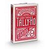 Карты Tally-Ho Standard Index CircleBack Red, 1006704red